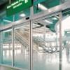 广州玻璃门订做办公室玻璃隔断安装