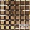 艺术玻璃拼镜,玻璃背景墙装饰工程