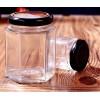 玻璃瓶厂生产  六棱蜂蜜瓶  酱菜瓶果酱瓶