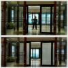 4S店的雾化投影玻璃应用OY-8
